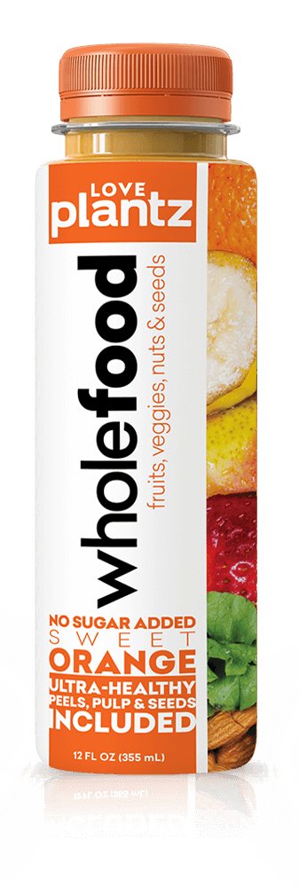 Orange Whole Food Drink