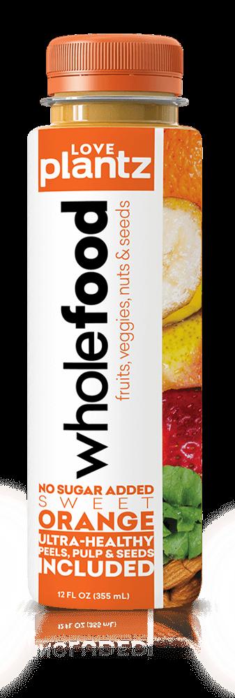 Orange Whole Food Drink